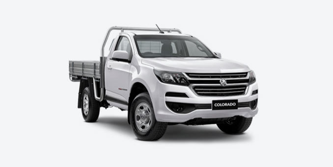 2018 Holden Colorado 4X4 Single Cab Chassis LS 2.8L Manual