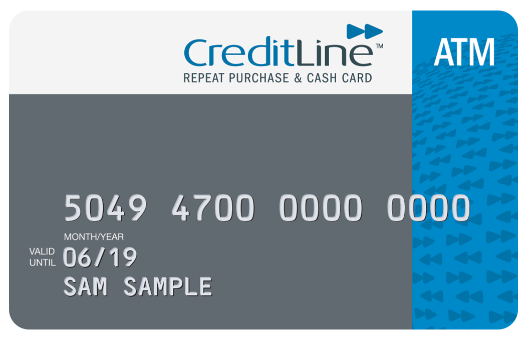 CreditLine card