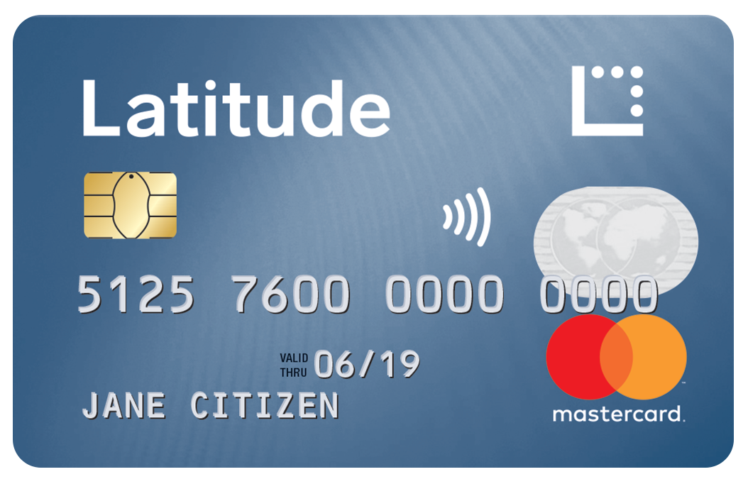 Latitude Low Rate Mastercard