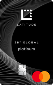 28 Degrees Platinum Mastercard card